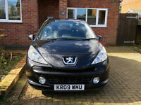 Peugeot 207 Sport 1.6 automatic - 120bhp, low mileage, sat nav, bluetooth hands free
