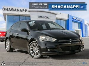 2014 Dodge Dart Limited - Navigation -  Leather Seats