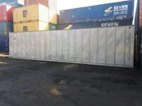 40ft x 8ft Aluminium Storage Container for sale. Second Hand. Wind and water tight.