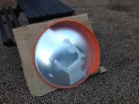 Brand new convex security mirror/driveway visibility mirror.
