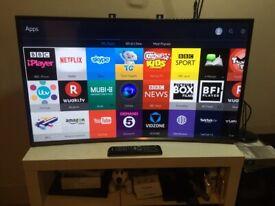 """EXCELLENT 40""""SMART CURVE LED FULL HDTV"""