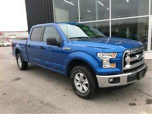 2015 Ford F-150 Crew 4x4, Blue-tooth, 1 owner truck