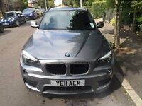 BMW X1 2011 X DRIVE2 M SPORT AUTOMATIC 4X4 DIESEL ESTATE WITH VERY LOW MILES 38000 SERVICE HISTORY