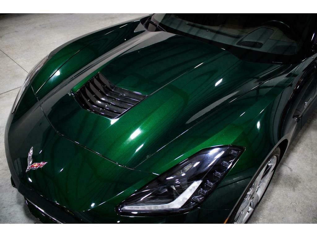2014 Green Chevrolet Corvette Convertible 3LT | C7 Corvette Photo 8