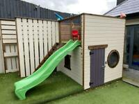 Kids wooden playhouse immaculate condition