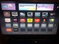 """Panasonic 40"""" Full Hd led 3D SMART TV"""