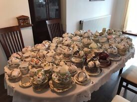 Job Lot Vintage China / Afternoon Tea Crockery for 180 people. Ideal for Wedding or Hire Business.