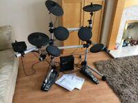 Gear4Music DD402 Electronic Drum set with 10W slimline Amplifier