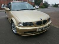 BMW ,3 SERIES ,73K ,LONG MOT ,FULL SERVICE HISTORY,CHEAP ON TAX ,RS SENSOR, TIDY £1695 ONO