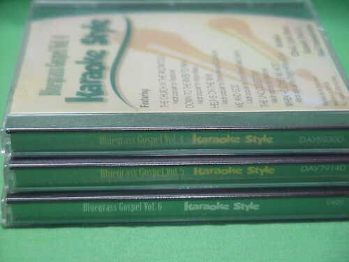 Bluegrass Gospel  Vol. #4 - 6  Christian  Daywind  Karaoke Style  CD+G   Karaoke