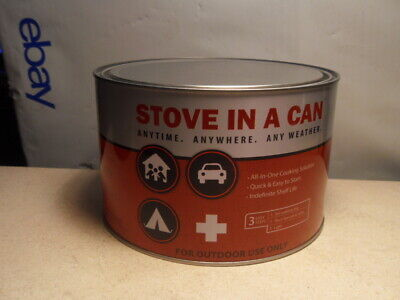 Stove In A Can - Portable Outdoor Camp / Cooking Kit Perfect for Camping Hiking