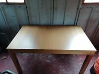 Extendable table - priced for quick sale & open to offers - minor damage - collection only