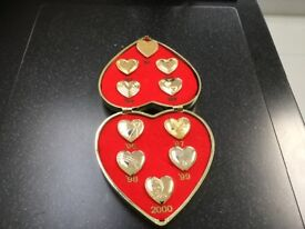 VARIETY CLUB OF GREAT BRITAIN GOLD HEARTS
