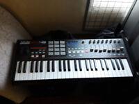 AKAI MPK49 USB/MIDI Keyboard Controller (49 Keys) DJ keyboard