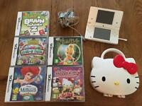 Nintendo DSi + 5 games + hard case