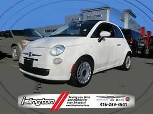 2012 Fiat 500C Pop - FWD, 1.4L I-4 **CARBIO SOFTTOP ROOF**A/C**