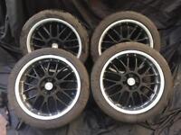 Calibre alloy wheels