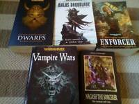 Selection of Warhammer books