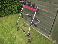 Halfords High Mount Cycle Carrier / Bike Rack Up To 3 Bikes