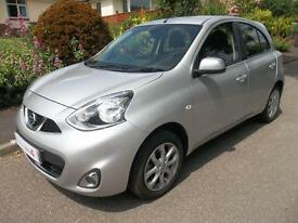 Nissan Micra 1.2 Acenta 5dr (universal silver) 2015