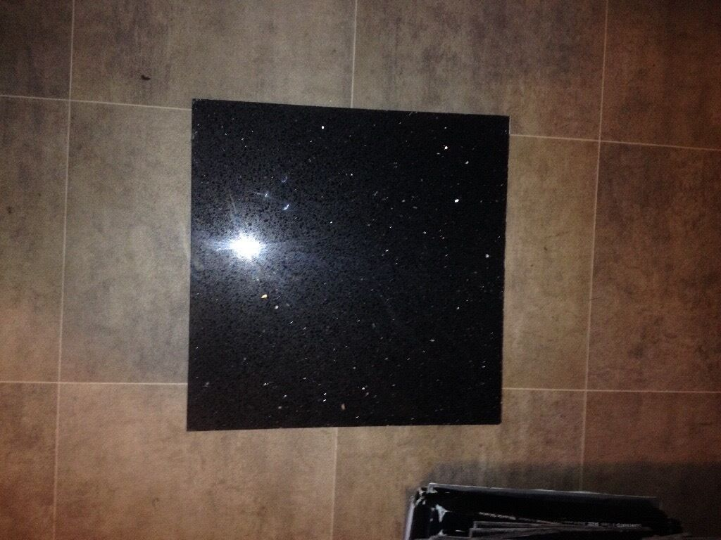 Galaxy Blackstar Galaxy Granite Floor Tiles X10 7 Offcuts In
