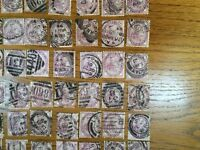 Collection of over 200 Queen Victoria Penny Lilac Stamps