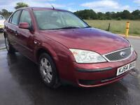 BARGAIN! Trade in to clear, Ford Mondeo lx, good MOT, low miles, ready to go