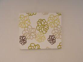 Pretty Fabric canvas