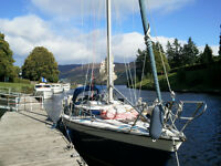 Lysa Blue Prospect 900 Yacht for sale (price reduced) Well maintained 8.75m fin keel yacht