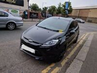 Bargain Stunning Black Ford Fiesta 1.25 with Very Low Mileage. Sports body & Led Lights - Serviced