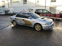 Subaru Impreza wrx , M.O.T ( has rebuilt engine open to offers)