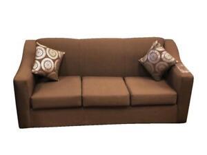 Canadian made Brown Sofa Set  (BD-1771)