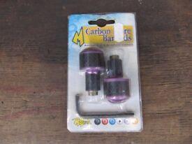 MOTRAX CARBON FIBRE BAR ENDS 7/8 (NEW)