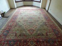 "Beautiful Extra Large Rug / Carpet - 3.8m x 2.8m or 12'6"" x 9'2"""