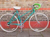 Vintage Peugeot mixty frame racer bike