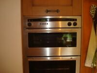 Neff U 1421 double oven built in
