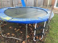 Trampoline - 10ft, including ladder