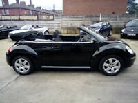 VW Beetle Convertible 1.6 Petrol Luna Stunning Condition