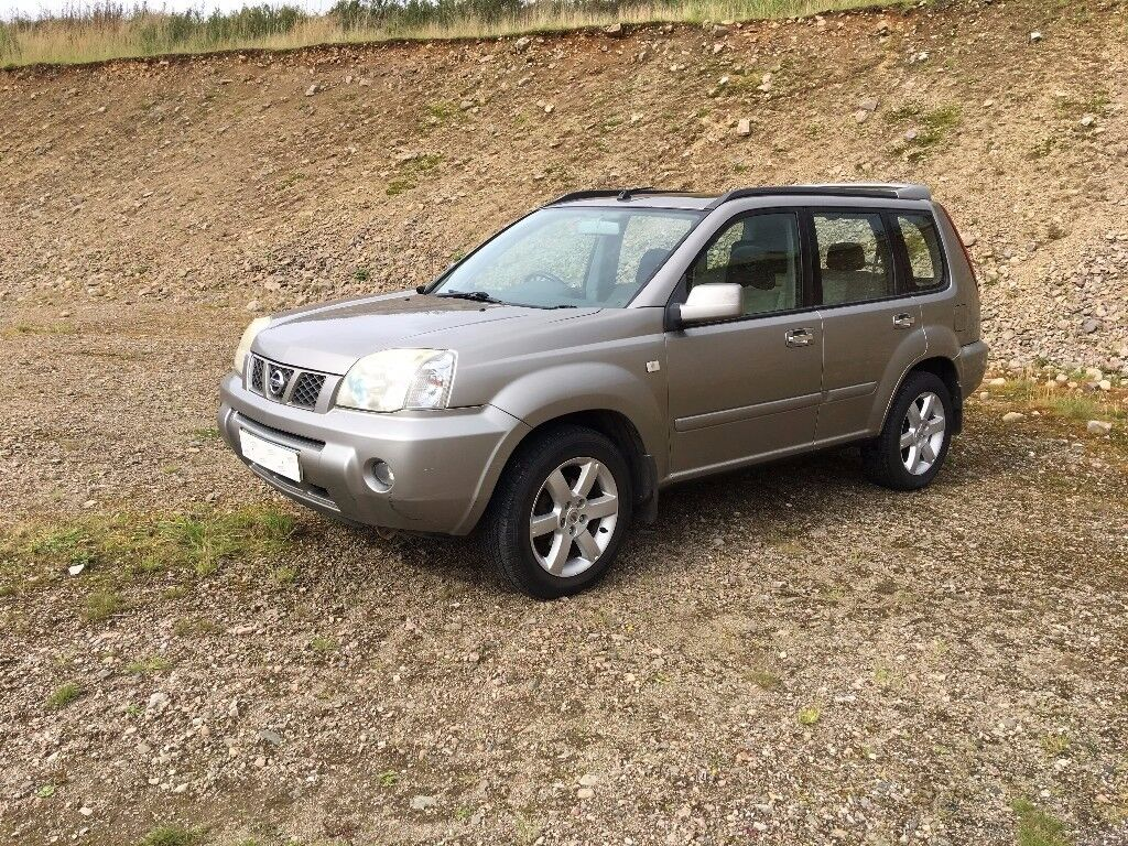 DIESEL NISSAN X TRAIL SPORT 2.2 DCI 4X4 - NEW REAR BRAKES, NEW TYRES, NEW REAR BEARING, NEW BATTERY