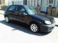 Citroen Saxo VTR 1.6 with very low mileage spares or repair