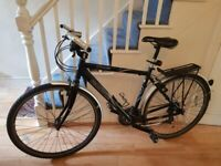 Claud Butler Urban 100 hybrid, good condition with lights