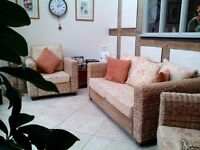 Conservatory Furniture in Excellent Condition with Zip off Covers