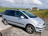 2003 FORD GALAXY GHIA 1.9 TDI 115 BHP AUTOMATIC 5 DOOR HATCHBACK SILVER 7 SEATER 12 MONTHS M.O.T