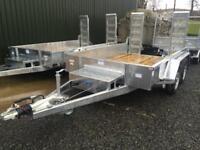 Trailer plant trailer dale Kane 10x6 3.5 ton heavy duty fully welded