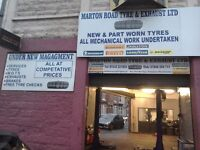 Garage for sale prime location in middlesbrough