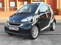 07 SMART FORTWO 1.0 PASSION + NEW SHAPE + ONLY 44K + £30 TAX + NEW MOT