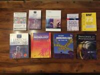 Medical + pharmacology textbooks
