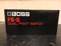 Boss Twin Footswitch