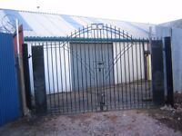 Garage/Workshop/Car storage. Secure yard for 4 cars and Workshop for ramps and 6 to 8 cars.