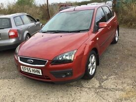 55 reg Ford Focus Diesel in very clean condition low mileage lovely bronze colour 50 plus to gallon
